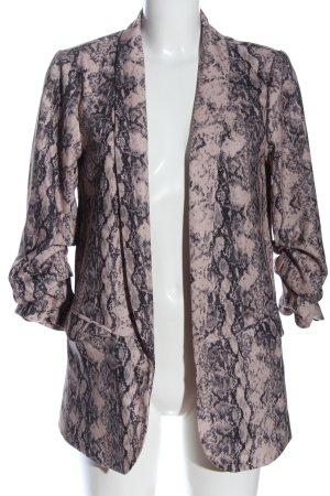 Reserved Lange blazer volledige print casual uitstraling