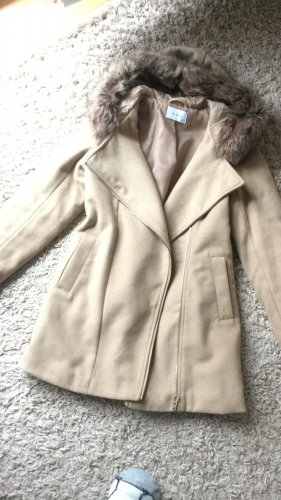 Reserved Hooded Coat multicolored