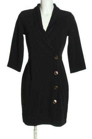 Reserved Sukienka płaszczowa czarny W stylu casual