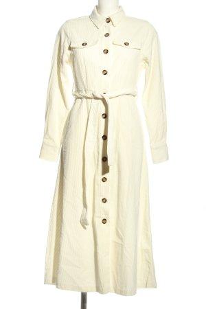 Reserved Robe manteau crème style décontracté