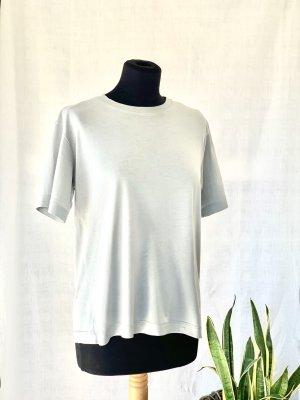 Reserved Metallic T-Shirt Silber/Grau