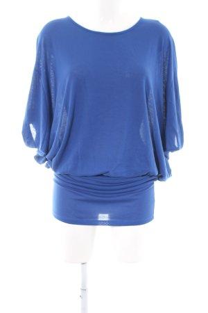 Reserved Midikleid blau Casual-Look