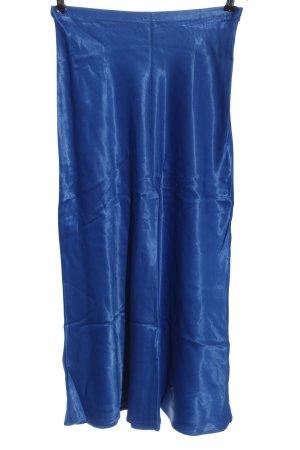 Reserved Spódnica midi niebieski W stylu casual