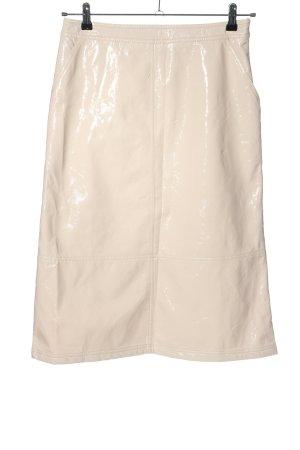 Reserved Spódnica midi kremowy W stylu casual