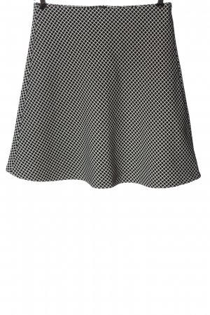 Reserved Mini rok zwart-wit volledige print casual uitstraling
