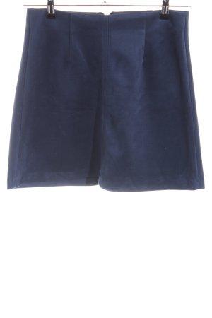 Reserved Mini rok blauw casual uitstraling
