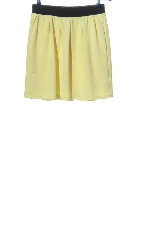 Reserved Mini rok sleutelbloem casual uitstraling