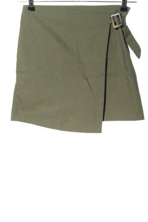 Reserved Mini rok khaki casual uitstraling