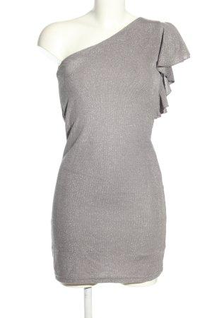 Reserved Abito monospalla grigio chiaro elegante