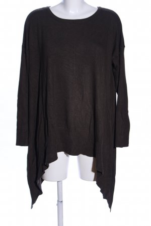 Reserved Oversized Pullover braun Casual-Look