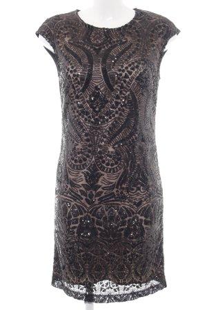 Reserved Robe à paillettes noir style mouillé