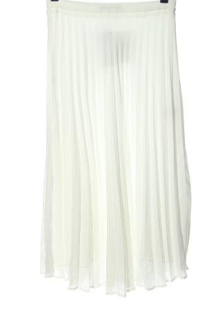 Reserved Gonna pieghettata bianco stile casual