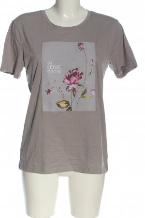 Reserved Print Shirt light grey-pink themed print casual look