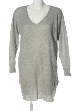 Reserved Abito maglione grigio chiaro stile casual
