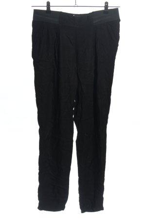 Reserved Flodderbroek zwart casual uitstraling