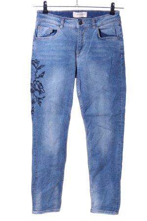 Reserved Röhrenjeans blau Casual-Look
