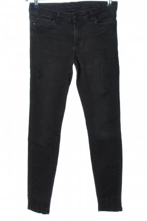 Reserved Tube jeans zwart casual uitstraling