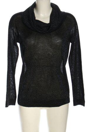 Reserved Rollkragenpullover schwarz Elegant
