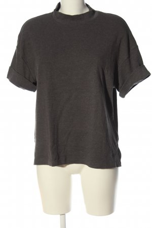 Reserved Turtleneck Shirt light grey casual look