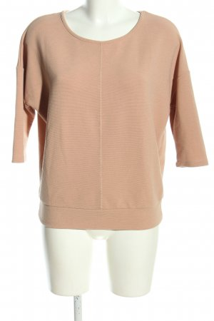 Reserved Rundhalspullover nude Casual-Look