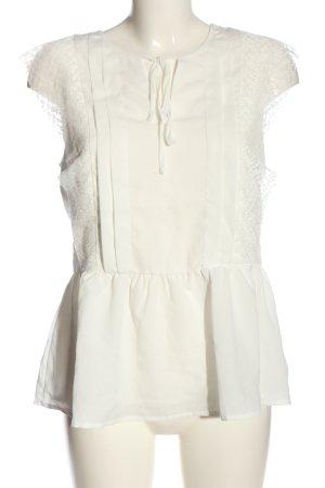 Reserved Schlupf-Bluse weiß Casual-Look