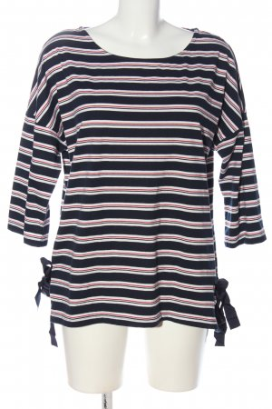 Reserved Schlupf-Bluse Streifenmuster Casual-Look