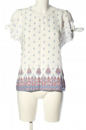 Reserved Schlupf-Bluse grafisches Muster Business-Look