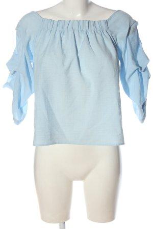 Reserved Schlupf-Bluse blau Casual-Look