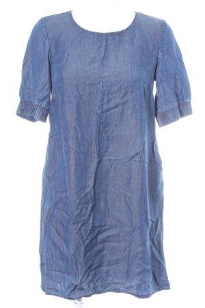Reserved Shirtkleid dunkelblau Jeans-Optik
