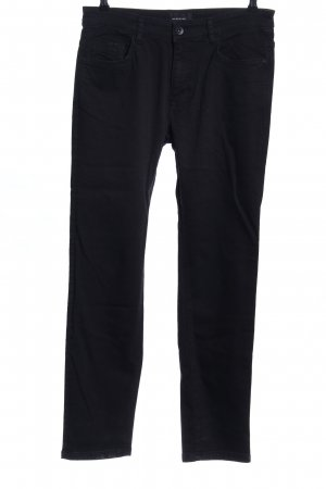 Reserved Skinny Jeans schwarz Business-Look