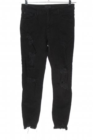 Reserved Skinny Jeans schwarz Casual-Look