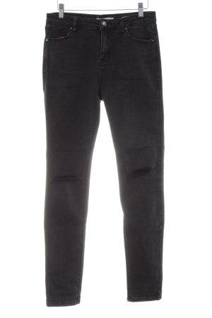 Reserved Slim Jeans schwarz Casual-Look