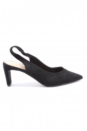 Reserved Slingback-Pumps schwarz Casual-Look