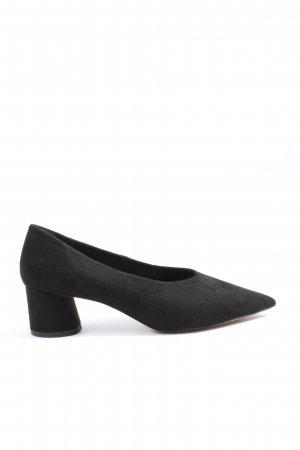Reserved Spitz-Pumps schwarz Business-Look