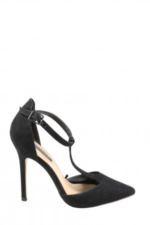 Reserved Spitz-Pumps schwarz Casual-Look