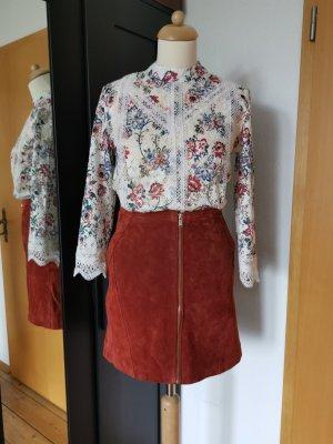 Reserved Koronkowa bluzka Wielokolorowy