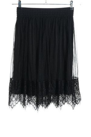 Reserved Koronkowa spódnica czarny W stylu casual
