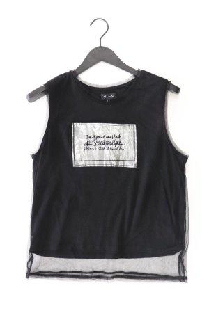 Reserved Kanten topje zwart Polyester