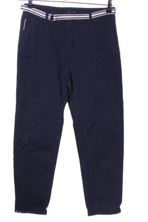 Reserved Stoffhose blau Casual-Look