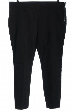 Reserved Stoffhose schwarz meliert Casual-Look