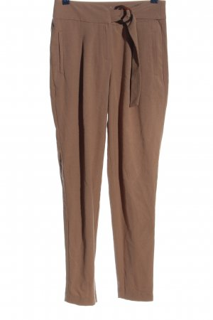 Reserved Stoffhose braun Casual-Look