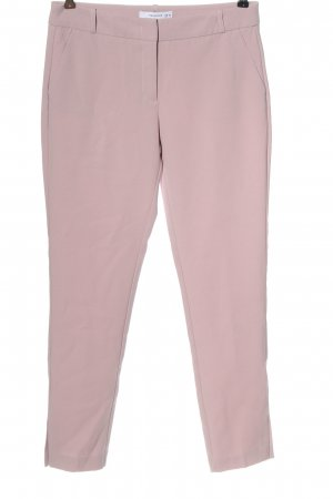 Reserved Stoffhose pink meliert Casual-Look
