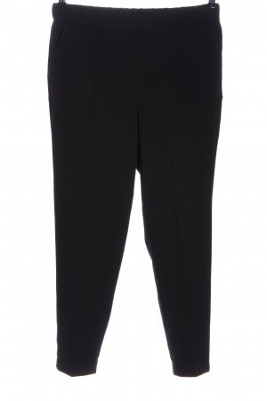 Reserved Stoffhose schwarz Casual-Look