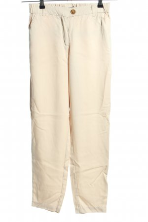 Reserved Stoffhose creme Casual-Look