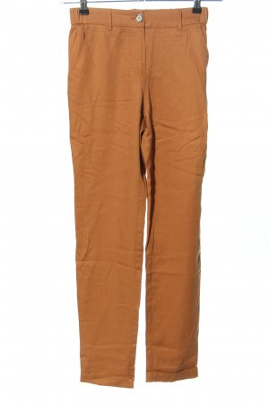 Reserved Stoffhose hellorange Casual-Look
