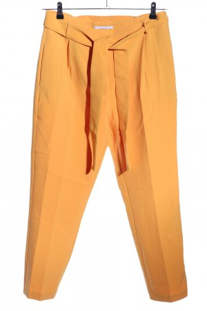 Reserved Stoffhose hellorange Business-Look