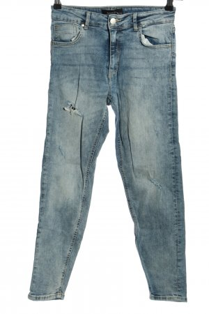Reserved Straight-Leg Jeans blau Casual-Look
