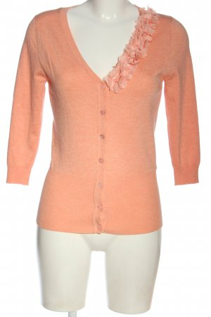 Reserved Knitted Cardigan nude flecked casual look
