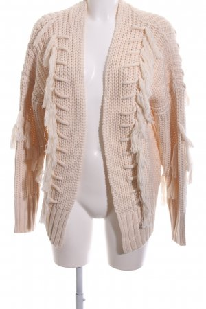 Reserved Strickjacke nude Casual-Look