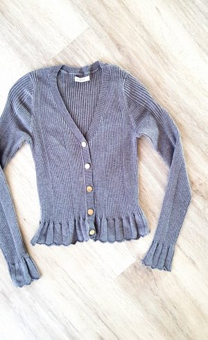 Reserved Cardigan silver-colored-grey viscose